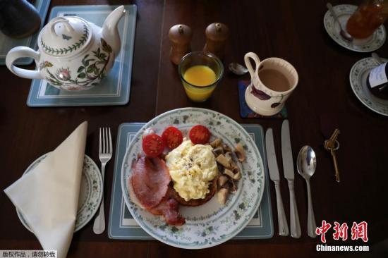 资料图:英式早餐。