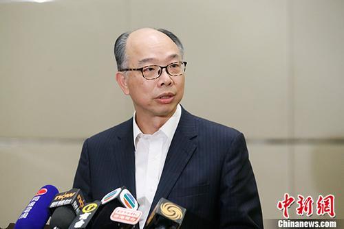 资料图:香港特区政府运输及房屋局局长陈帆。<a target='_blank' href='http://www.chinanews.com/'>中新社</a>记者 韩海丹 摄
