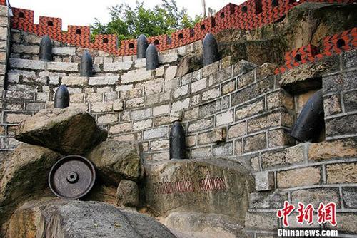厦门市胡里山炮台,位于厦门岛西南部的胡里山海岸,建于清朝光绪十七年(1891年),当初修筑此炮台用了五年。 <a target='_blank' href='http://www.chinanews.com/'>中新社</a>发 刘兆明 摄 图片来源:CNSPHOTO