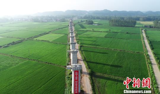中国最长运煤专线蒙华铁路牵引供电系统开始送电