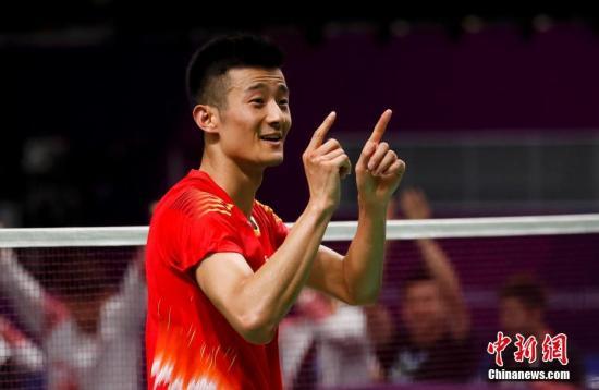 老将谌龙将出任本次比赛国羽队长一职。<a target='_blank' href='http://www.chinanews.com/'>中新社</a>记者 杜洋 摄
