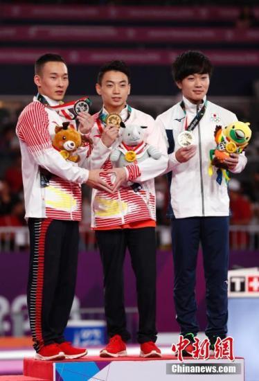 体操世锦赛男团发挥欠佳 资格赛以258.354分险胜日本位列第二