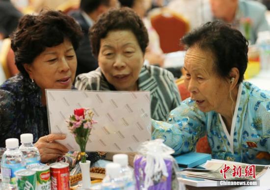 韩朝离散家属团聚活动取得成功 年内或再
