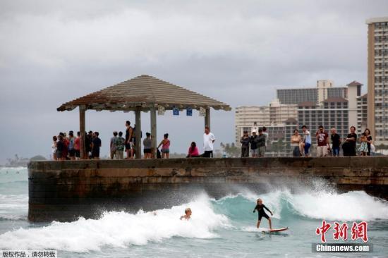 美国夏威夷接连发生3起酒店纵火案 当局着手调查