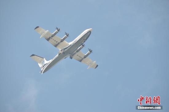 """中国造""""鲲龙""""AG600将进入水上试验试飞阶段"""