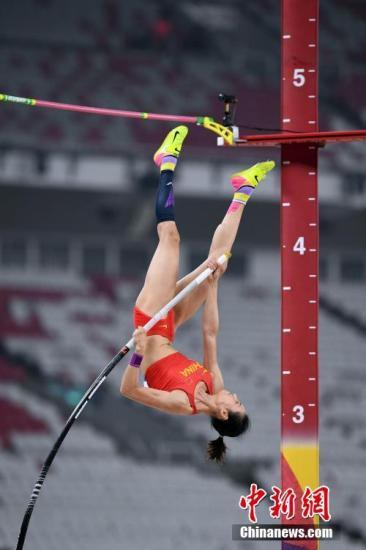 资料图:李玲新赛季已获一冠一亚,并达到多哈世锦赛标准。<a target='_blank' href='http://www.chinanews.com/'>中新社</a>记者 侯宇 摄