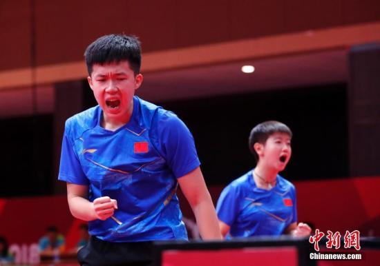 国际乒联世界巡回赛香港站开幕 中国选手王楚钦和薛飞晋身次轮,陈树隆与芜湖女干部