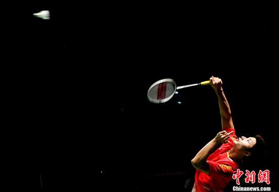 资料图:国羽比赛中 <a target='_blank' href='http://www.chinanews.com/'>中新社</a>记者 王东明 摄