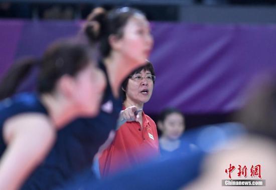 资料图:尽管世锦赛没能夺冠,郎平带领的中国女排仍旧将是东京奥运金牌的热门。