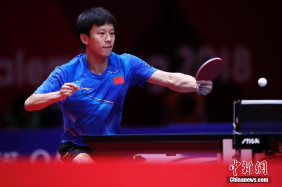 中国选手林高远。 <a target='_blank' href='http://www.chinanews.com/'>中新社</a>记者 刘关关 摄