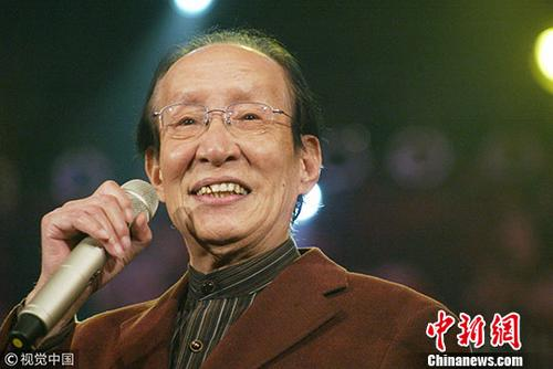 著名相声表演艺术家常宝华。图片来源:视觉中国