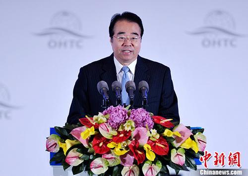 资料图:中央统战部副部长、国务院侨务办公室主任许又声。 <a target='_blank' href='http://www.chinanews.com/'>中新社</a>记者 刘忠俊 摄