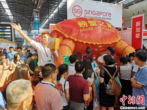 资料图:9月12日,第15届中国-东盟博览会开幕,中外近3000家企业参展。 <a target='_blank' href='http://www.chinanews.com/'>中新社</a>记者 蒙鸣明 摄