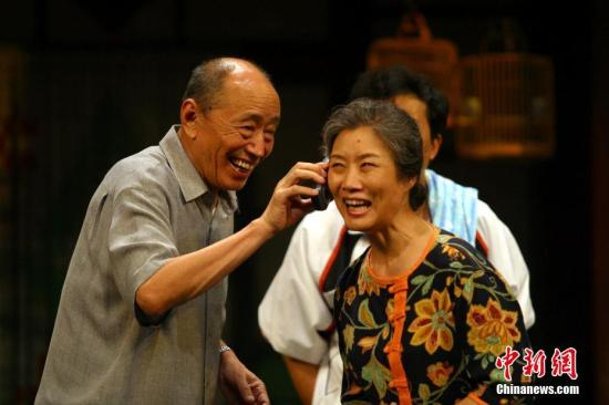 朱旭曾出演过电影《变脸》、《洗澡》、《刮痧》等众多文化意蕴深厚的影片,还参加了《末代皇帝》、《似水年华》、《大宅门》等大量电视剧的拍摄。<a target='_blank' href='http://www-chinanews-com.wnyer.com/'>中新社</a>发 张平 摄