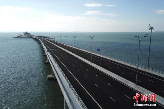 港珠澳大桥联合试运行30日结束 基本达通