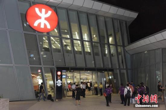 资料图:香港高铁西九龙站。<a target='_blank' href='http://www.chinanews.com/'>中新社</a>记者 李志华 摄