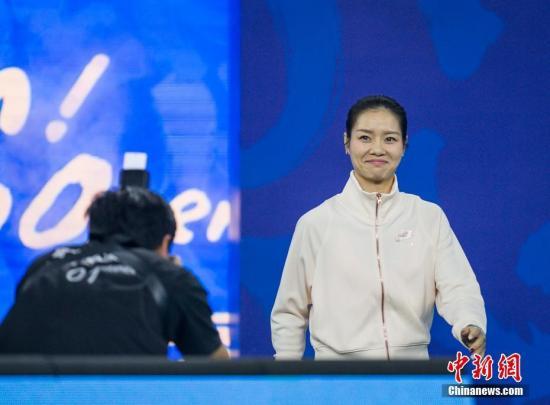 资料图:李娜。 <a target='_blank' href='http://www-chinanews-com.fosscys.com/'>中新社</a>记者 张畅 摄