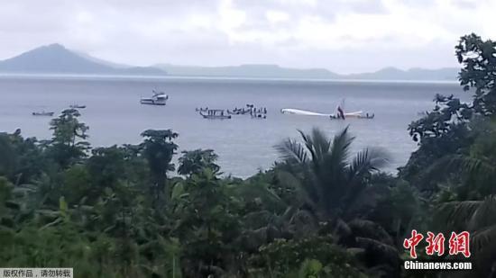 巴布亚新几内亚航空:客机坠海事件中一名男乘客失踪