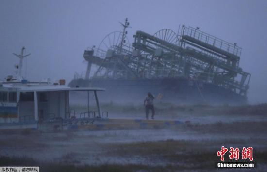 """台风""""潭美""""吹袭日本 香港8旅行团滞留"""