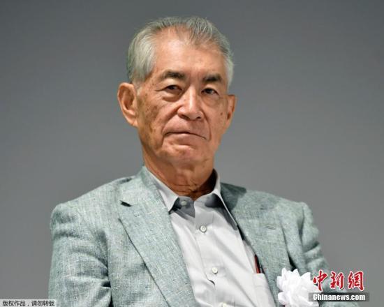 """资料图片""""""""日本免疫学家本庶佑(Tasuku Honjo)。"""
