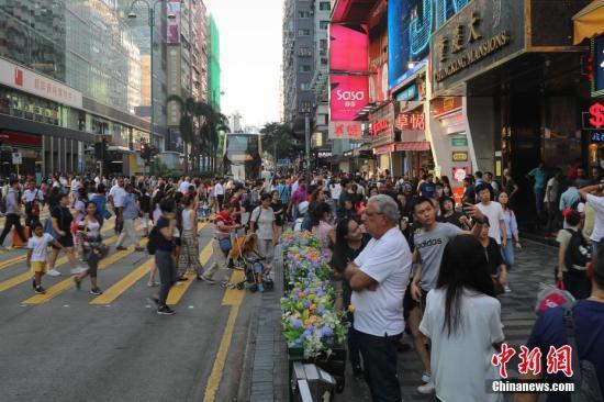 资料图:香港尖沙咀。中新社记者 谢光磊 摄
