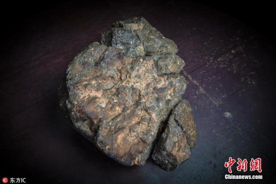 资料图:陨石。 图片来源:东方IC 版权作品 请勿转载