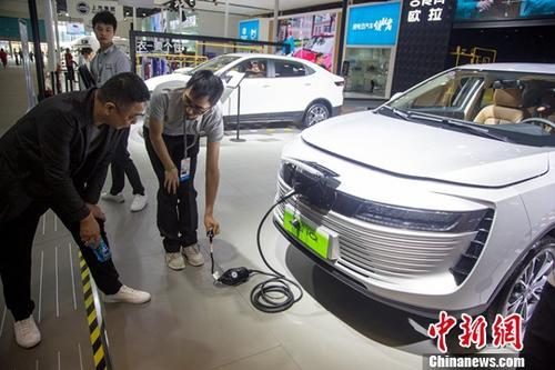 資料圖:新能源汽車。中新社記者 張暢 攝