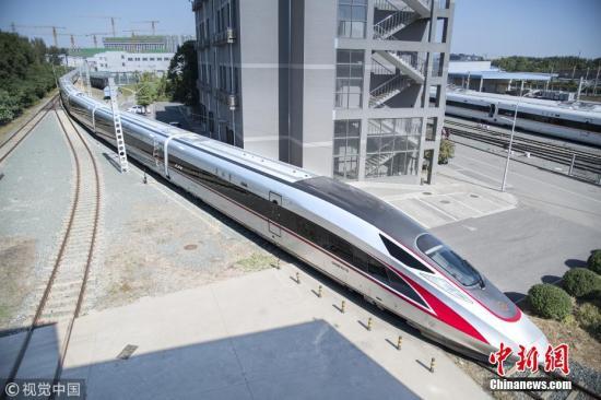 资料图:复兴号高铁。 刘嘉烨 摄 图片来源:视觉中国