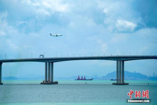 资料图:港珠澳大桥。<a target='_blank' href='http://www-chinanews-com.huikecrm.com/'>中新社</a>记者 张炜 摄