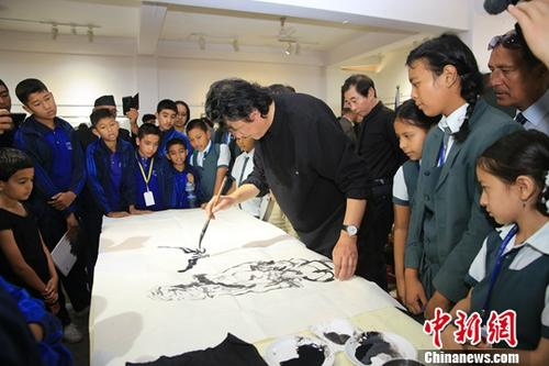 A Chinese artist's imagination takes wing
