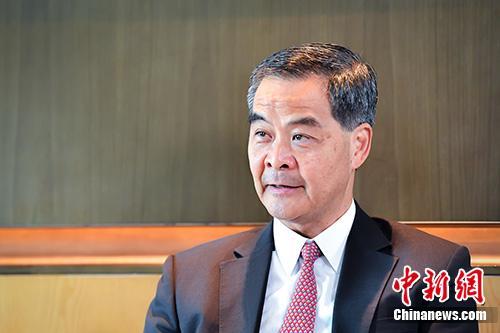 资料图:全国政协副主席梁振英。<a target='_blank' href='http://www-chinanews-com.dl35.net/'>中新社</a>记者 陈骥�F 摄