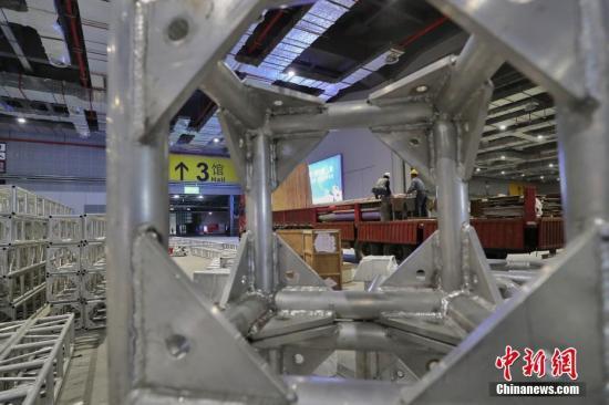 首届中国国际进口博览会将于11月5日在中国国家会展中心(上海)举行。张亨伟 摄