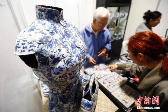 资料图:第十三届中国北京国际文化创意产业博览会开幕现场。<a target='_blank' href='http://www.chinanews.com/'>中新社</a>记者 富田 摄