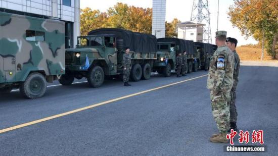 韓朝完成板門店共同警備區解除武裝工作。韓國國防部供圖