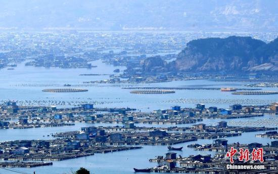 资料图:福建连江海域。张斌 摄