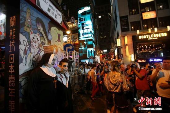 酒吧惹口角冲突香港6名男子遭袭击 警方正调查