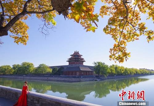 资料图:北京景致。<a target='_blank' href='http://www.chinanews.com/'>中新社</a>记者 贾天勇 摄