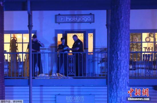 当地时间11月2日,一名男子在美国佛罗里达州一家瑜伽馆开枪打死1人,重伤4人,然后自杀。