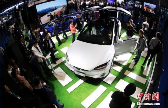资料图:电动汽车。中新社记者 杜洋 摄