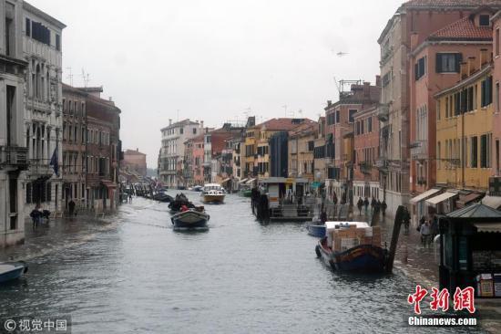 资料图:意大利威尼斯。 图片来源:视觉中国