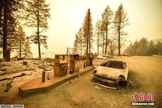 美国加州州政府、保险公司和房屋屋主面临的灾损估计至少190亿美元。