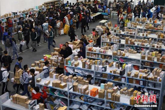 中国包裹快递量对全球增长贡献率超50% 包裹快递量超过美、日、欧总和