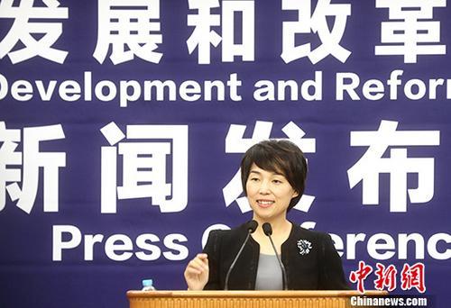 发改委新闻发言人孟玮。(资料图) 中新社记者 张宇 摄