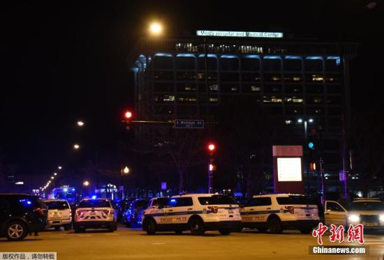 美国芝加哥枪击致4死 枪手与一受害者有