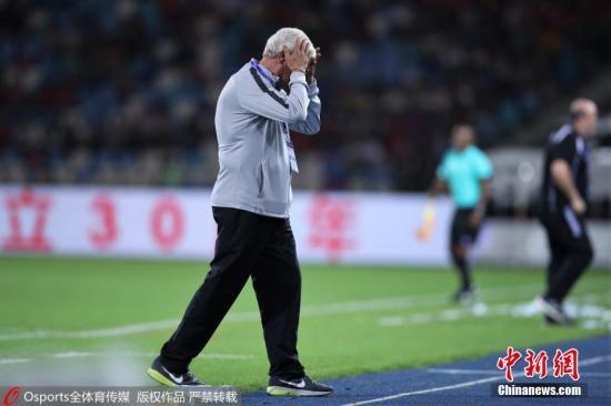 原料图:里皮将在亚洲杯后卸任。图片来源:Osports通盘育图片社