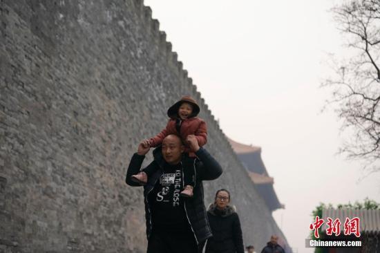 原料图:北京民多出走。 中新社记者 杜洋 摄