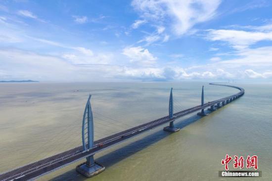 资料图:港珠澳大桥。中新社记者 陈骥旻 摄