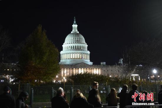 资料图:美国国会。中新社记者 陈孟统 摄