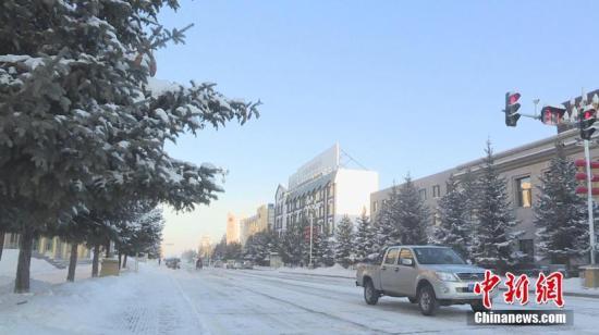资料图:降雪天气。图/王景阳