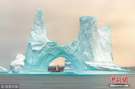 材料图:格陵兰岛。